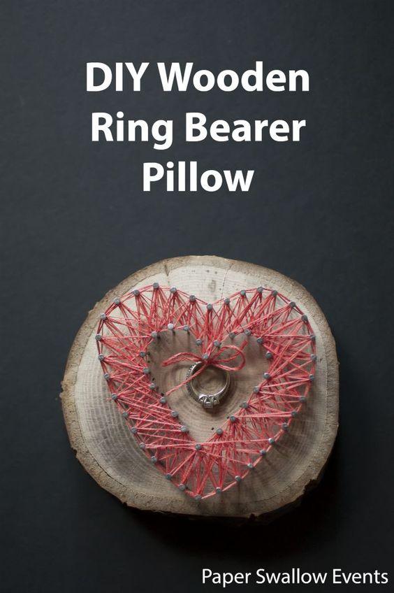 Ring bearer pillows, For her and Wedding on Pinterest