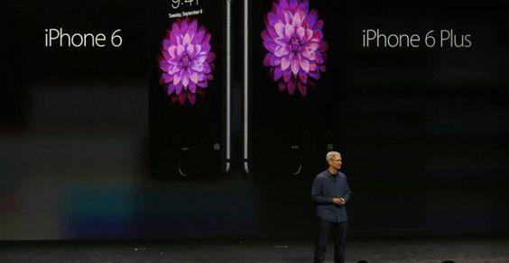 Apple presenta el iPhone 6 y el iPhone 6 Plus