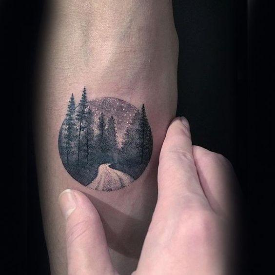 Nice Tree Tattoo 60 Forearm Tree Tattoo Designs For Men Forest Ink Ideas Tree Tattoo Forearm Nature Tattoo Sleeve Tree Tattoo Designs