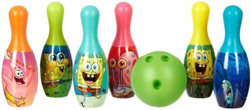 Nickelodeon SpongeBob SquarePants Bowling Set MULTI $10.79