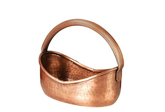 Copper Handled Planter on OneKingsLane.com