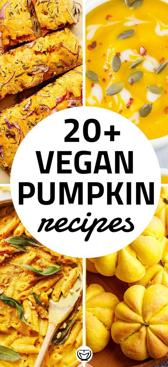 Everything pumpkin: 20+ yummy vegan recipes