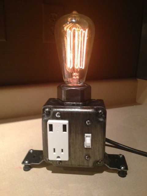 Dimmable Industrial Desk Lamp Patina Industrial Phone