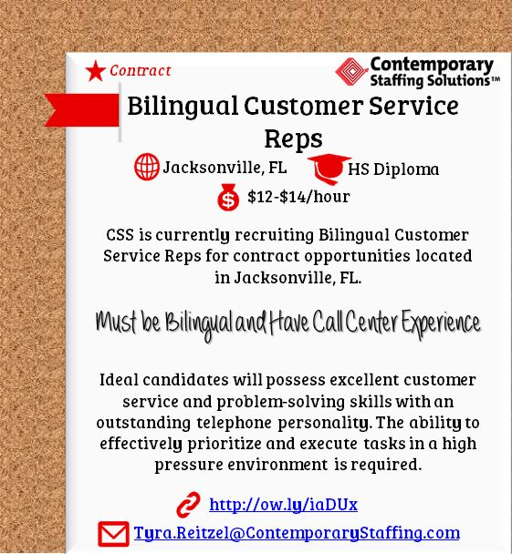 CSS is #hiring Legal Bill Review Specialists in Jacksonville, FL l - resume services jacksonville fl