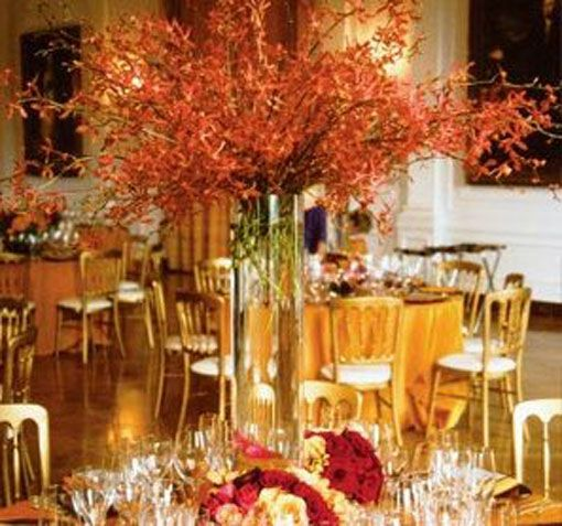 Ideas For Fall Wedding Centerpieces: Image Detail For -Wedding Centerpiece Ideas Tall Fall