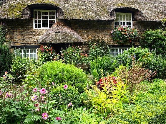 a cottage garden | venkov | pinterest | gärten, ferienhäuschen und, Best garten ideen