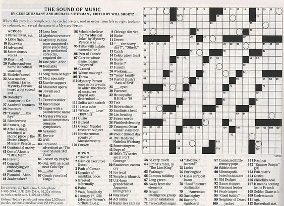 newspaper crossword puzzle   google search round house