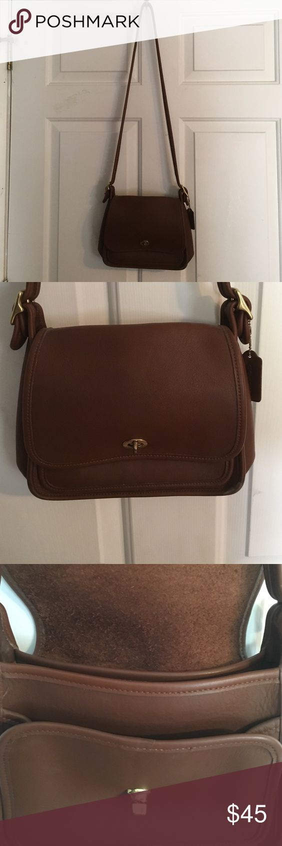 Coach purse Tan vintage coach purse. EUC!! Only used a few times. Coach Bags Shoulder Bags