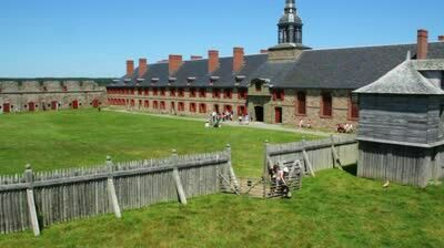 Fortress Of Louisburg, Nova Scotia, Canada ...