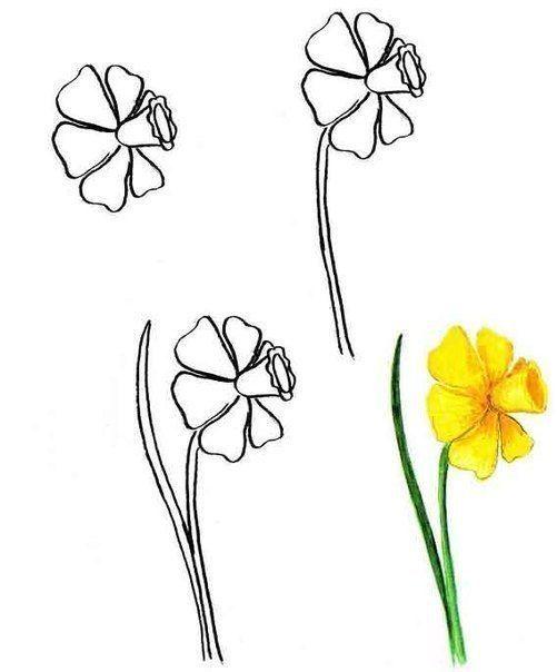 Auf Diese Seite Konnen Sie Blumen Malen Lernen Es Ist Ganz Einfach Und Mit Hilfe Diese Schone Vorlagen Erkenn Blumen Malen Wie Man Blumen Malt Blumen Zeichnen