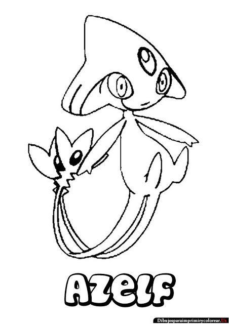 dibujos de pokemon para imprimir y colorear. coloring page pokemon ...