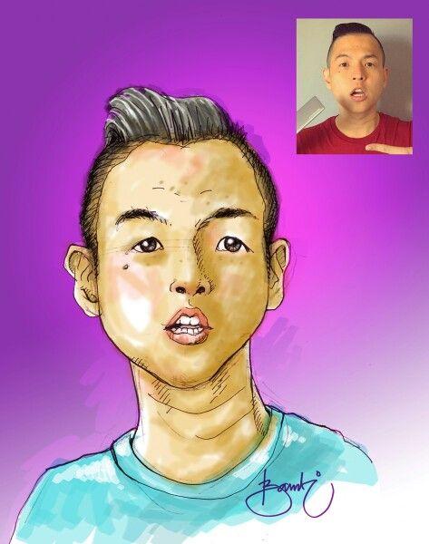 #masbambi menggambar karikatur #standupcomedy #standupcomedyindonesia mas @ernestprakasa film @NGENESTmovie  #comica #caricature #cartoon #kartun #karakter #karakter_animasi #karakterunyu #karakter_unyu #drawing #doodles #doodle #doodling #sketsa #sketch #digitalart #artwork #potrait #gambar #artwork #artworks #bambibambanggunawan #masbe #mas_be
