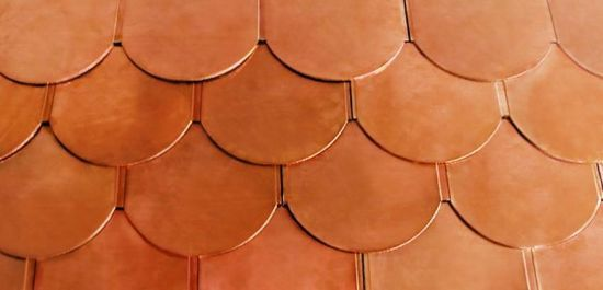 Hot Item Copper Roofing Tile Series Copper Roof Roofing Metal Roof