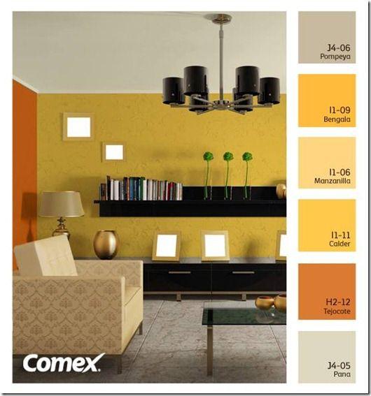 Comex Color 004 Colores Para Paredes Interiores Interiores De Recamaras Colores De Interiores
