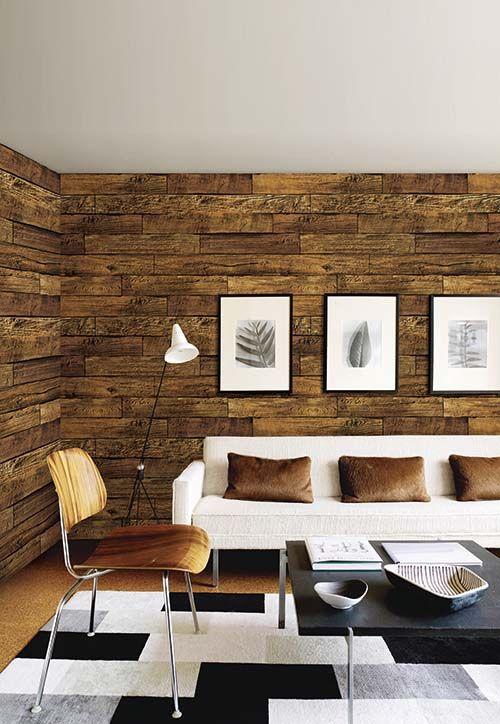 Wooden Wallpaper For Walls Wooden Wallpaper Wallpaper House Design Design