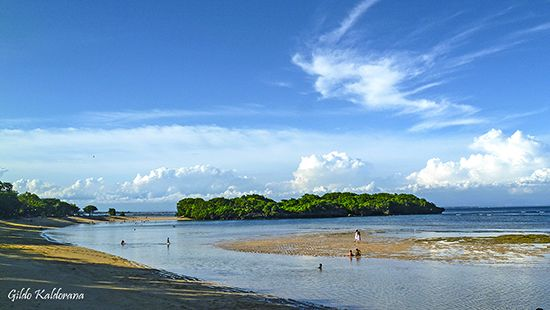 Playa de Nusa Dua.