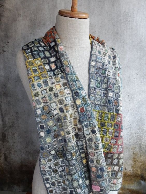 """Concrete"" Scarf - Sophie Digard crochet:"