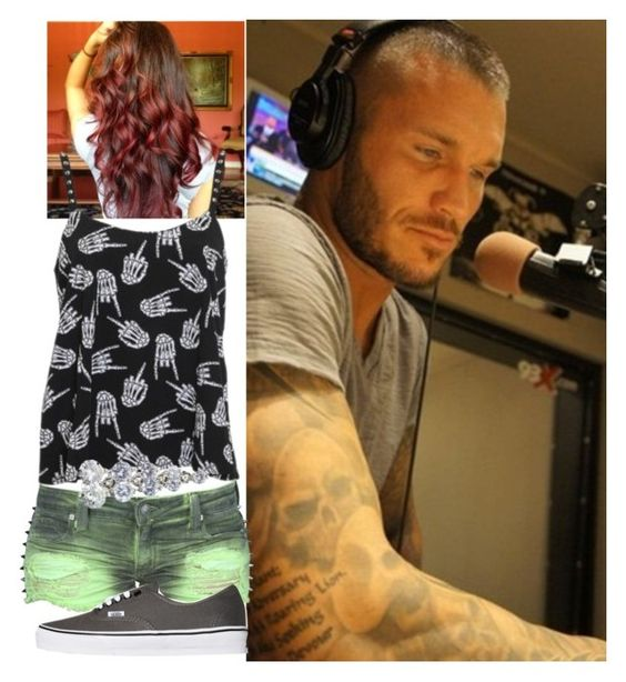 """Radio Interview With Randy Orton!!!!!"" by onedirection-emblem3 ❤ liked on Polyvore featuring mode, Rat Baby, Frankie B. et Vans"