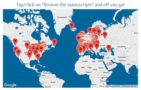 Digitized Medieval Manuscripts App