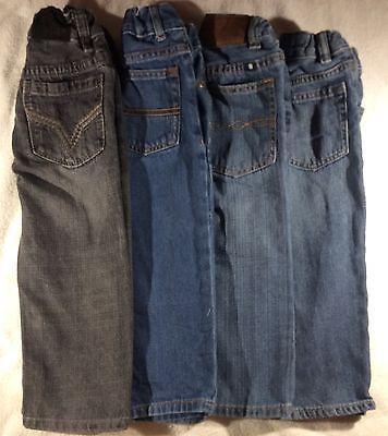 Lot of 4 Boy's Size 2T Jeans Gap Lucky Brand DKNY