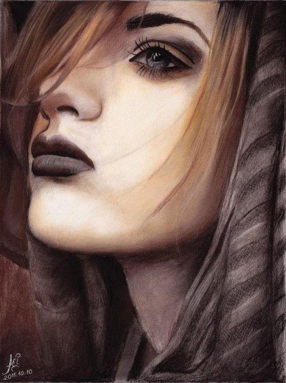 Lápis de cor incríveis Desenhos de ArielRGH