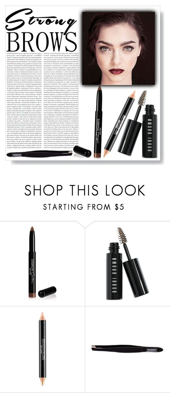 """""""Untitled #573"""" by lo2lo2a ❤ liked on Polyvore featuring beauty, Oris, Givenchy, Bobbi Brown Cosmetics, Tweezerman, BeautyTrend, strongbrows and boldeyebrows"""