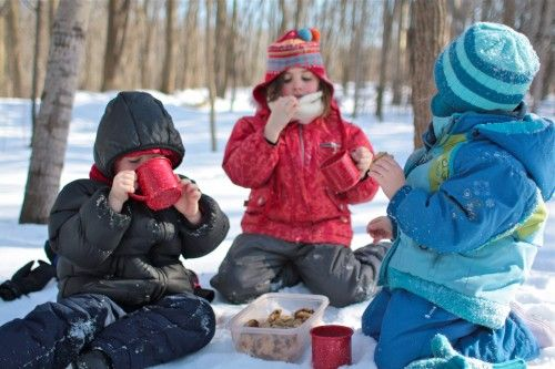 How to plan a snow picnic