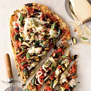 Fresh Summer Pizzas | Veggie Grilled Pizza | CookingLight.com