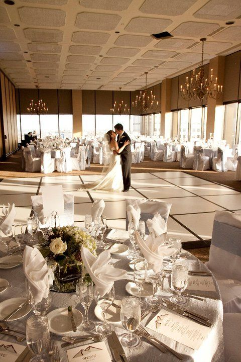 Table Linens Stealing A Kiss Inspiration Tamara Nicholas Trujillo Wedding 2017 Grand Hyatt Denver Co Courtesy Of