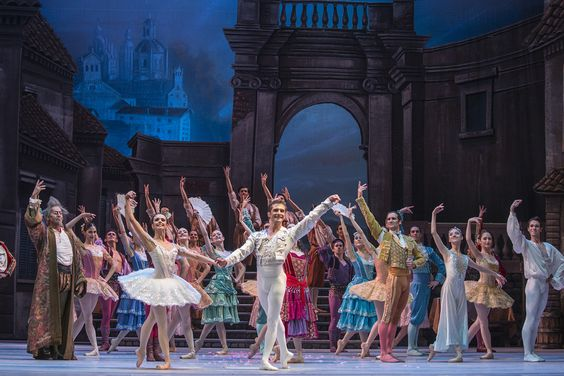 Don Quijote. Ballet de Santiago. Foto: Patricio Melo