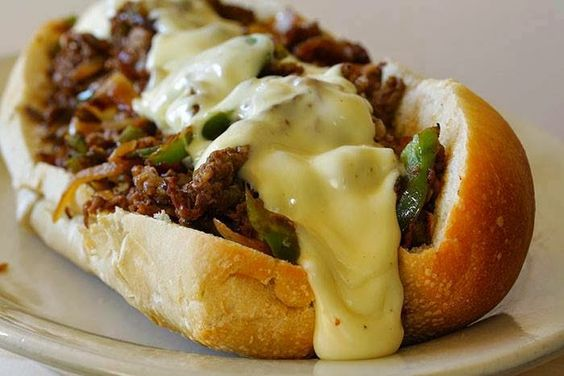 the best recipes of all time: Slow Cooker Philly Cheese Steak Sandwiches