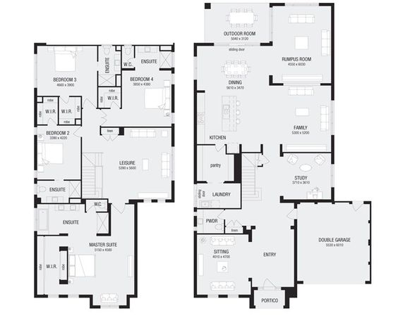 Nolan 50 New Home Floor Plans Interactive House Plans Metricon