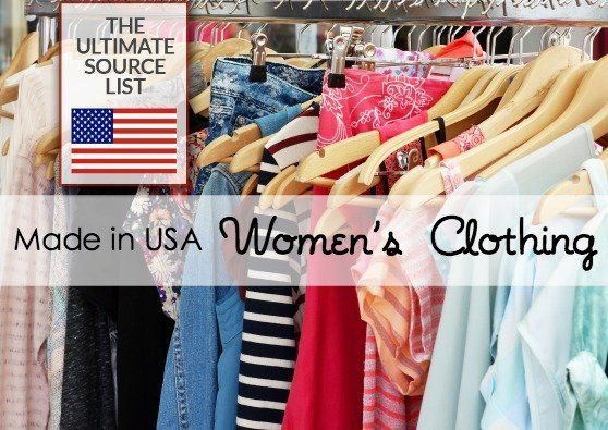 Made In Usa Women S Clothing Made In Usa Women S Clothing The Ultimate Source Gu In 2020 American Made Clothing Women Clothing Boutique Womens Clothing Websites