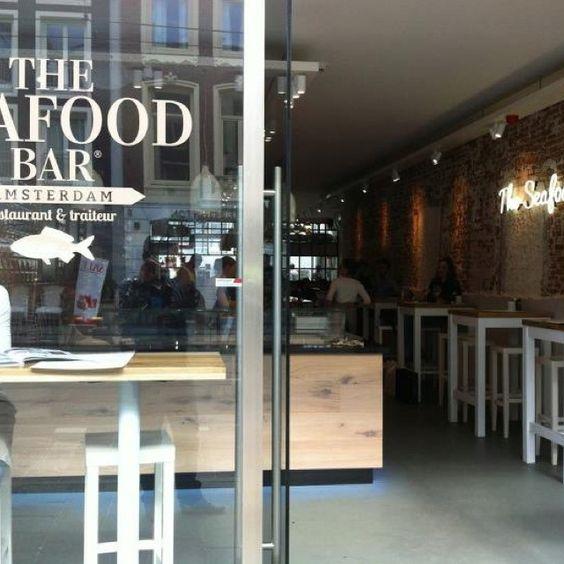 The seafood bar amsterdam food drinks love visit for Seafood bar van baerlestraat