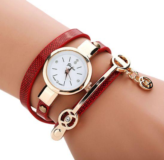 Luxurious wrist watch bracelet (Multiple Colors Available)