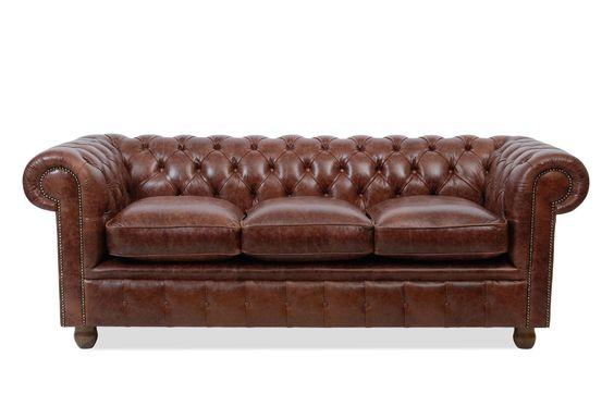 Chesterfield sofa leder  Chesterfield Sofa Leder | eBay | Holz, Vintage und Ziegelsteine ...