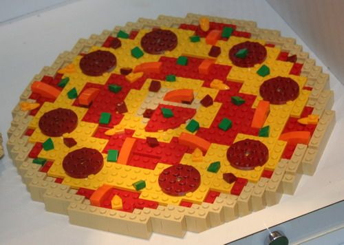 Marvelous Math Made Memorable: Lego Pizza Combination Math Activity