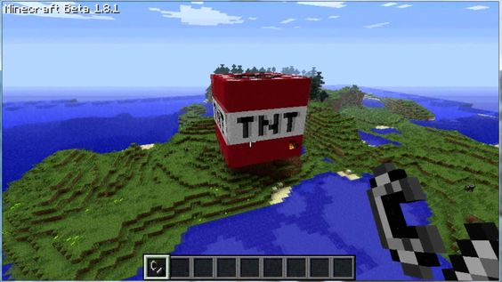 Minecraft biggest TNT explosion ever - YouTube