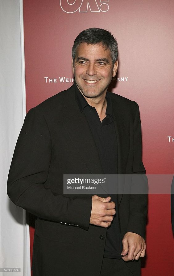 Actor/director George Clooney arrives at the Weinstein Co. Pre-Oscar Party at the Pacific Design Center on March 4, 2006 in Los Angeles, California.