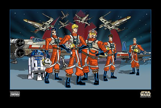 Red Squadron by Peter Ferk: