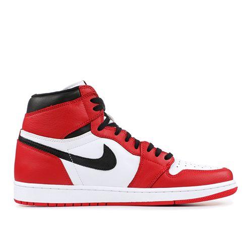 Air Jordan 1 Homage Black And White Red Yin Yang Splicing Chicago