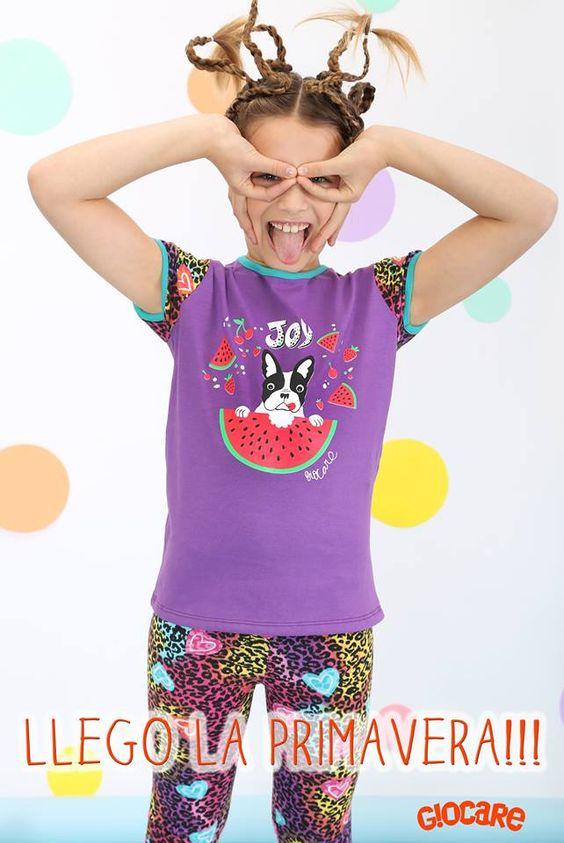 Giocare. Moda infantil argentina. Verano 2016