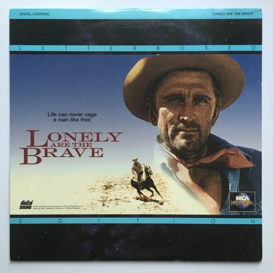 Lonely are the Brave Laserdisc