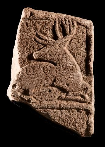 The Archaeology Channel — irisharchaeology: Celtic Deer A seated stag,...