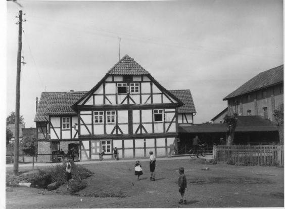 1934 Bilshausen - Rhume-Mühle, Niedersachsen. ☺