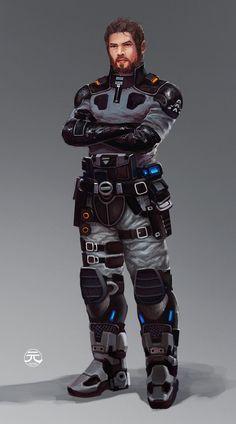 sci-fi civilian - Google Search