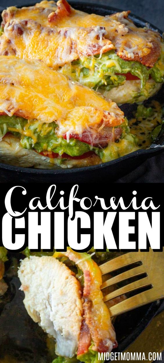 California Avocado Chicken