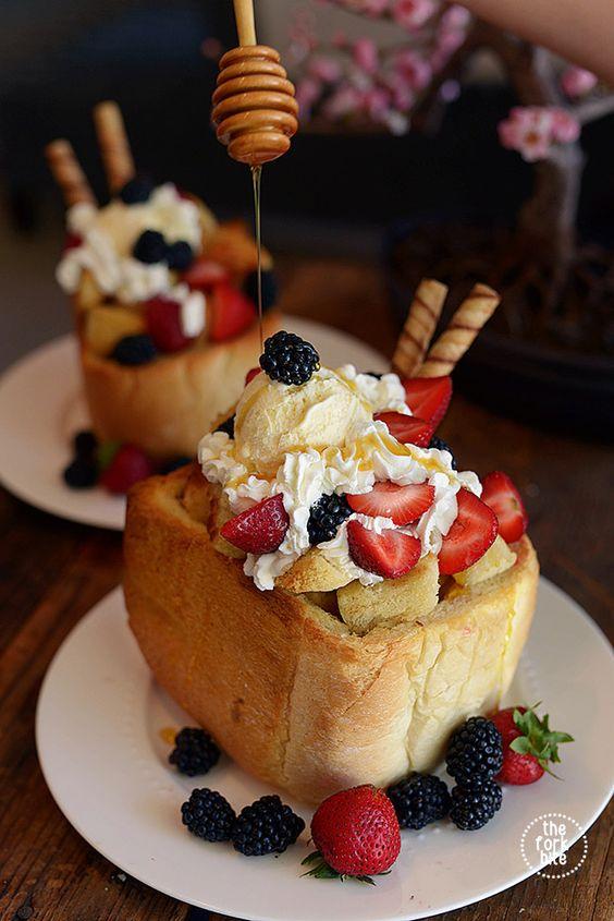 honey toast recipe