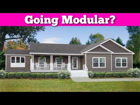 What Are Modular Homes Youtube In 2020 Double Wide Manufactured Homes Modular Homes Home
