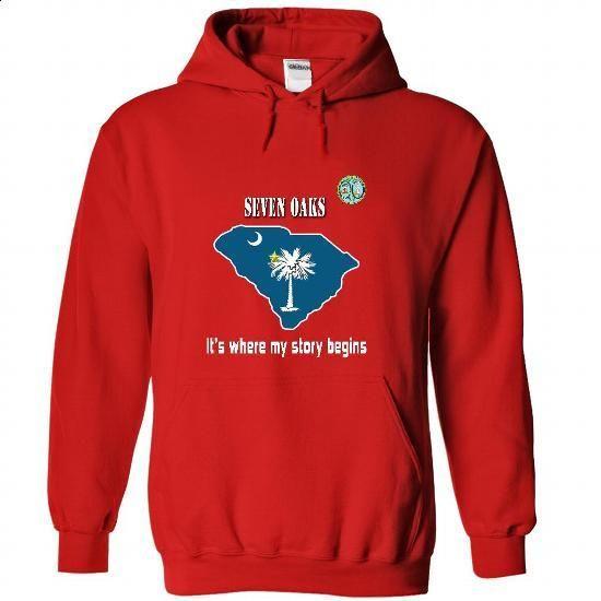 Seven Oaks - #cat hoodie #oversized sweatshirt. MORE INFO => https://www.sunfrog.com/LifeStyle/Seven-Oaks-5658-Red-30095033-Hoodie.html?68278